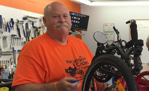 Scott is a graduate of Barnett Bicycle Institute.